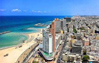 beach promenade Tel Aviv
